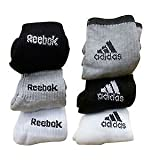 #10: Combo Offer Of 6 Pairs Multicolor Ankle Sports Wear Cotton Socks With RK-AD Logo