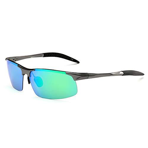 fdeee7426c AMZTM Gafas de Sol Deportivas para Hombre, Polarizadas Lente TAC, Gafas de  Sol de