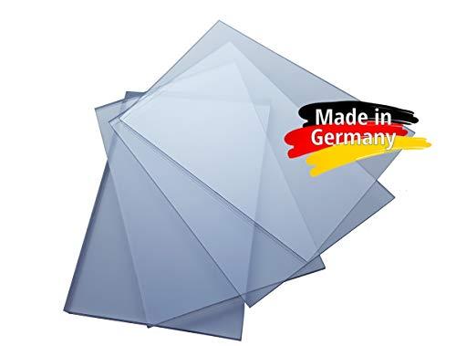 Polycarbonat Platte, PC Zuschnitt TRANSPARENT, Stärke 3-8mm, VIELE Verschiedene Formate, beidseitiger UV-Schutz TOP QUALTÄT (100 x 75cm, 3mm UV-Schutz)