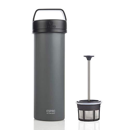 Espro 17679tazza termica da viaggio con caffè filtro, Grigio (568)