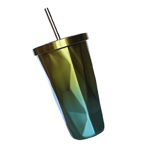 Martinad Tasse De Voiture Thermo Mug Bouteille Unique élégant Une Tasse De Café Une Tasse De Café En Acier Inoxydable Avec Une Tasse Isolée Une Tasse De Café (Color : Gelb, Size : Size)