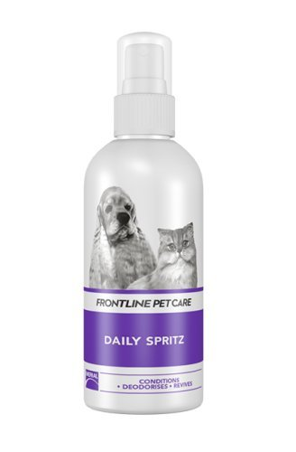 FONTLINE PET CARE- Acondicionador en spray para perros y gatos, con control de olores, 200 ml.