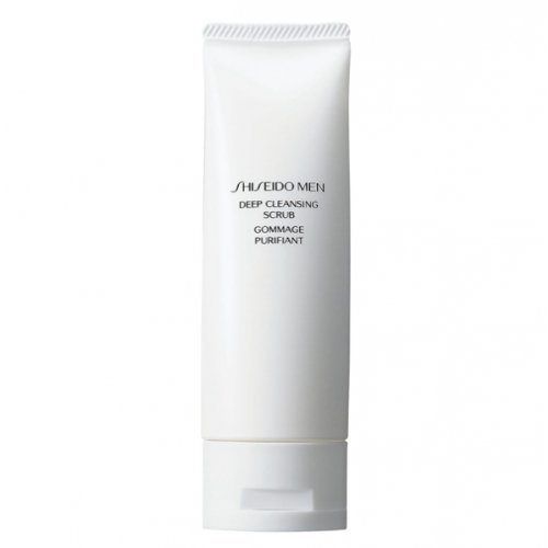 Shiseido Men Deep Cleansing Scrub Gesichtspeeling 125 ml -