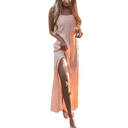 iHENGH Damen Frühling Sommer Rock Bequem Lässig Mode Kleider Frauen Röcke Womens Holiday Lace Up...