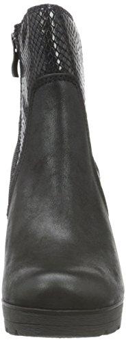 Marco Tozzi Damen 25401 Kurzschaft Stiefel Schwarz (Black Ant.Comb 096)