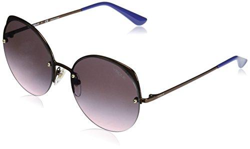 Vogue Eyewear Damen 0VO4081S 5074H9 55 Sonnenbrille, Gold (Copper/Rosegradientgreymirrorbluee),