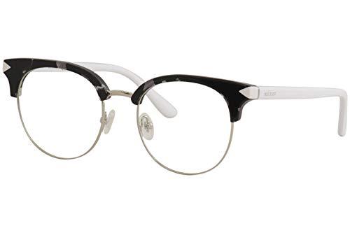 Guess Unisex-Erwachsene GU2671 001 49 Brillengestelle, Schwarz (Nero Lucido) (Herren Guess Brillengestelle)