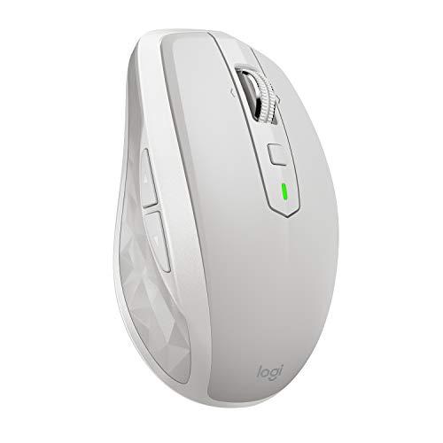 Logitech MX Anywhere 2S Souris sans fil / Souris Bluetooth pour Mac et Windows - Gris clair