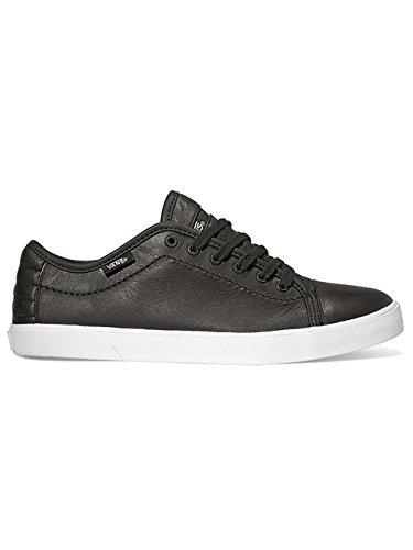 Vans Hadley Lo, Scarpe sportive donna Black Leather