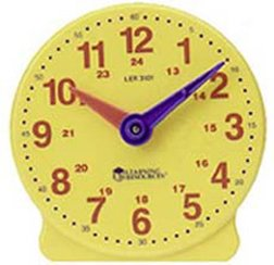 Learning Resources Big Time 24-Hour Student Clock from Learning Resources (UK Direct Account)