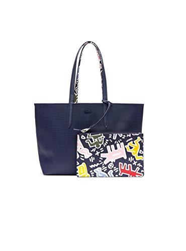 Lacoste Bolso Shopping Reversible Marino Mujer U Marino