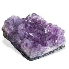 Healing Crystals India pietra preziosa naturale cluster (2-1,4kilogram, ametista)