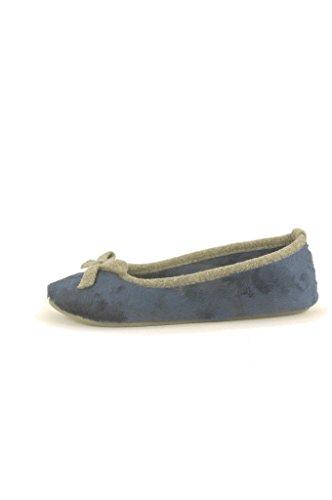 Esprit Stitchy Mule, Chaussons femme Bleu