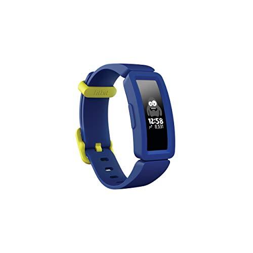 Fitbit Unisex Jugend Ace 2 Aktivitätstracker Night Sky + Neon Yellow Einheitsgröße