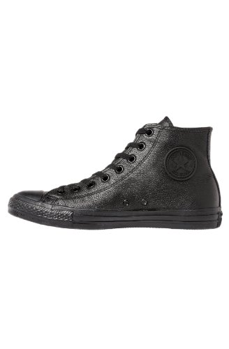 Converse - Chuck Taylor All Star Core Leather Hi, Scarpe Da Ginnastica unisex Nero(Black Mono)