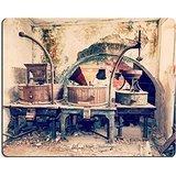 luxlady Gaming Mousepad Bild-ID: 34150959Vintage Old abandoned Winery Old Ausrüstung und Grape Druckmaschinen Sardinien Italien