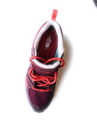 The North Face T0CJ8X, Zapatillas de Senderismo para Mujer, Verde LFF, 37 EU