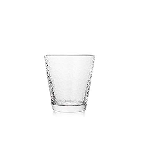 KPPTO Glas Weinglas - 4er Set - Transparentes Weinglas, 11 oz Beautiful Life