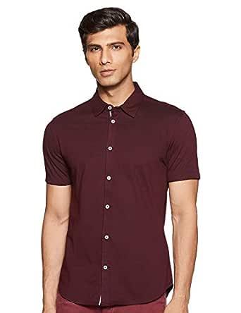 United Colors of Benetton Men's Plain Slim fit Casual Shirt