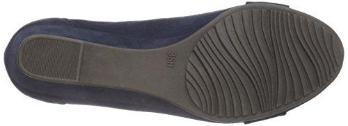 Softline 22260, Chaussures à talons - Avant du pieds couvert femme Bleu - Bleu (NAVY 805)
