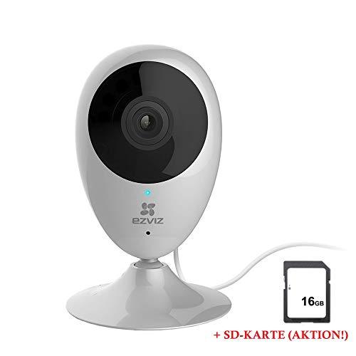 ezviz Leicke C2C HD Alexa WiFi Kamera | Überwachungskamera | Kommunikation über Zwei-Wege-Audio | Tag- und Nachtsicht | mit Bewegungssensor