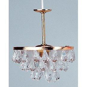 Kahlert 10.501 luz - Muñeca Mini Accesorios - lámpara Colgante, lámpara de araña