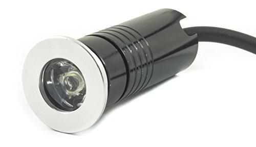 Strahler LED 3W eingebaute Segnapassi begehbar Außen Innen Senna DR–Licht Kaltweiß