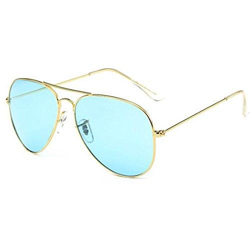 NoyoKere Elegante neutrale Metallrahmen Mode Gradienten Sonnenbrille Sommer Stil Brille weibliche UV400 Gläser