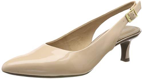 Rockport Total Motion Kaiya Sling, Scarpe col Tacco con Cinturino Dietro la Caviglia Donna, Rosa (Bellini Pate 001), 42.5 EU