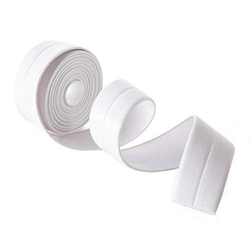 Küche Caulk Tape Badezimmer Wand Dichtband Wasserdicht Selbstklebende Dekorative Trim - 38Mm * 3,2 M/Weiß