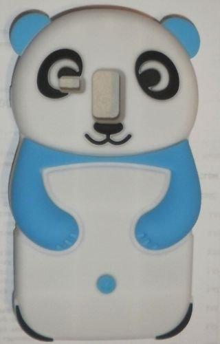 Back Case 3D Panda Blanc/Bleu clair pour Apple iPhone 64,7Coque Cover Étui de protection pour sac