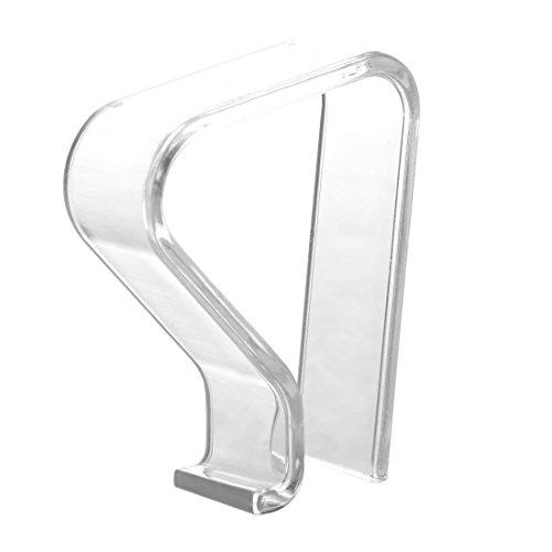 SODIAL(R) 4 Stueck Picknick-Clips, Spring Tischtuchklemmen Tischtuchklammer, transparent - 2