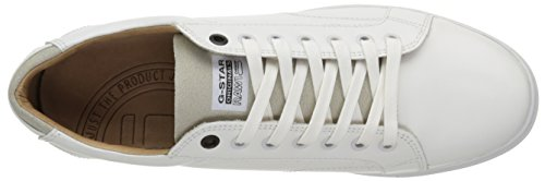 G-Star STANTON LOW MONO, Sneakers Basses homme Blanc (bright white)