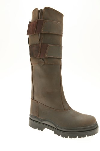 Suffolk Country Bottes en cuir Jambe standard Marron - Marron