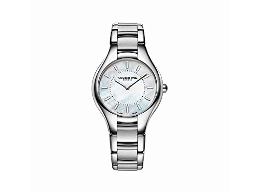 Montre à Quartz Raymond Weil Noemia Ladies, Nacre, 32mm, 5132-ST-97001