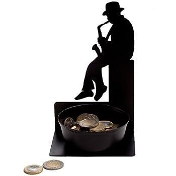 Artori Design AD110 Spare some change, Saxophonist Coin Holder by ARTORI Design
