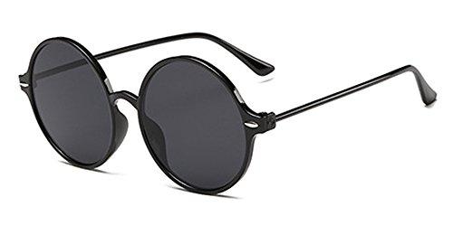 Kindoyo occhiali da sole retrò da donna, occhiali da sole rotondi, occhiali rifrangenti, protezione uv400, occhiali da sole non polarizzati