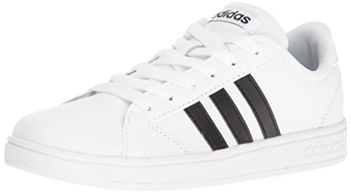 reputable site 80da6 20312 Adidas Mujeres Baseline K Bajos   Medios Cordon Zapatos para Tenis,  White Black