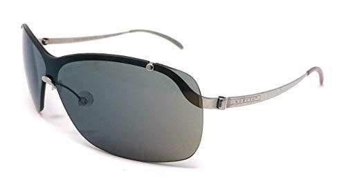 Unbekannt Lindberg Damen Sonnenbrille Silber silber/schwarz