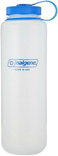 Preisvergleich Produktbild Nalgene Wide Mouth HDPE Bottle, 1.5L, Blue & Clear