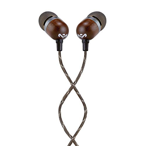 House of Marley EM-JE041-MIC In-Ear Headphone With Mic (Midnight)