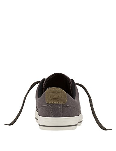 Converse Star Player Premium Leather Ox Herren Sneaker Grau Grey