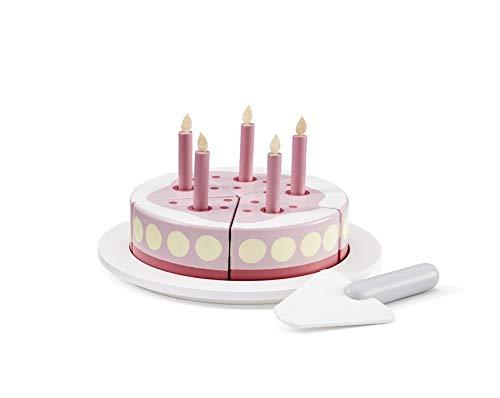 tagskuchen mit Servierplatte rosa 1000266 ()