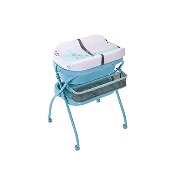 Mr.LQ Diaper Table Baby Care Table Shower Table Newborn Baby Change Diaper Massage Touch Table Foldable Mr.LQ Say goodbye to abdomen, as long as a change of diaper table, change diapers, massage care, high frequency, stand to change diapers, baby care, good waist, easy to play, more safe, safer 3D filled countertop, refusal to sign ordinary sponge, select high-resistance, high-pressure resistant erect cotton inner core, soft and hard fit the baby's body, baby is comfortable and not easy to resist Dirty and water-proof, it is clean and clean, PU leather surface, stains can be easily wiped off, more clean and hygienic 1