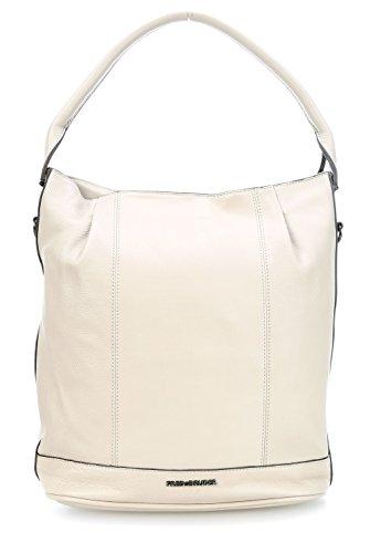 FredsBruder Flaps Hobo Beuteltasche beige (Handtasche Hobo Flap)