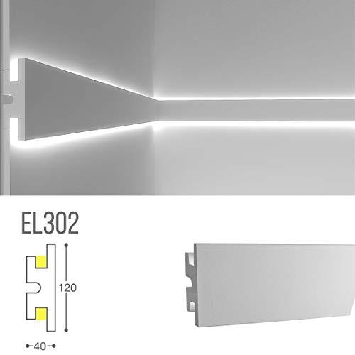 Cadre pour éclairage indirect lED double à mural-el302(1,15m)