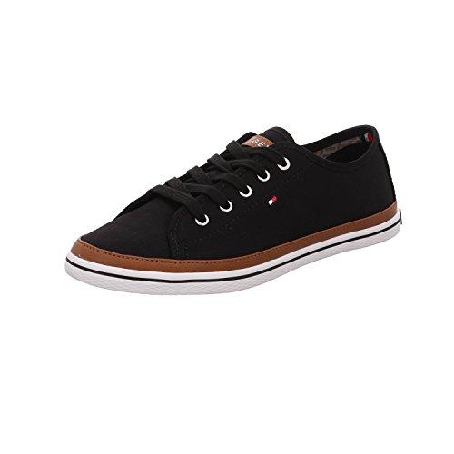 Tommy Hilfiger Iconic Kesha, Sneaker Donna Nero (Black 990)