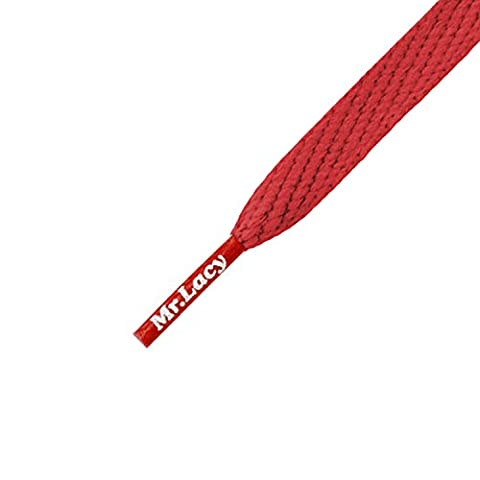 Mr Lacy Smallies - Short Red Shoelaces - 90cm Length