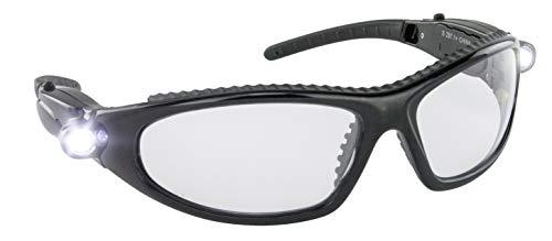 S.A.S. Sicherheit Corp SAS5420-50 LED-Inspektoren Schutzbrille mit Hands-Free Light -