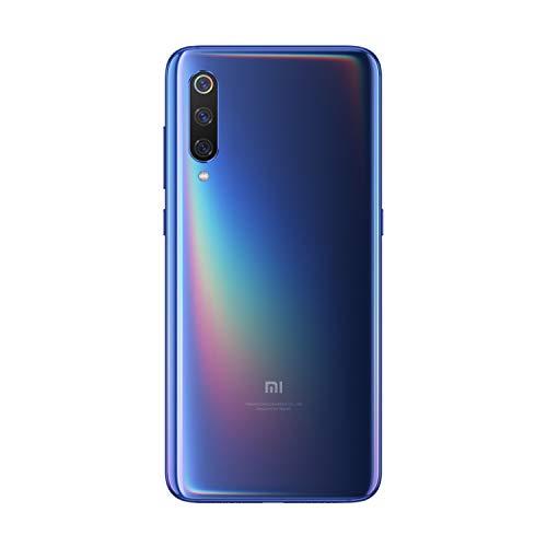 "Xiaomi Mi 9 - Smartphone Amoled de 6, 99""(4G, Octa Core Qualcomm SD 855, 2, 8 GHz, 6 Go de RAM, 64 Go de Mémoire, 12 + 48 + 16 MP Triple Camera, Android) Couleur Bleu Océan"